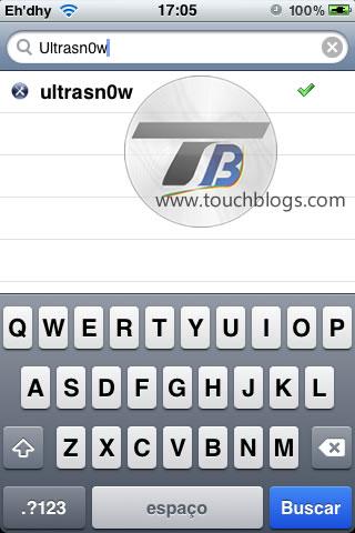 Desbloqueio iPhone - Ultrasn0w