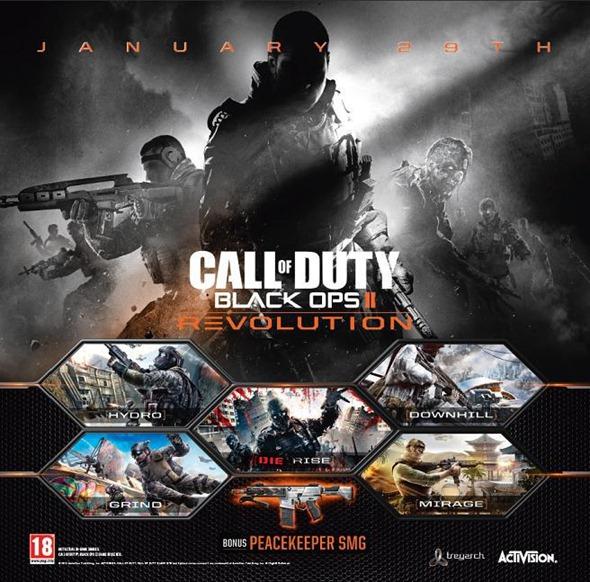 Black Ops II - Revolution