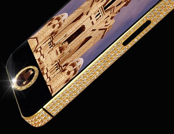 iPhone 5 - Diamante e Ouro