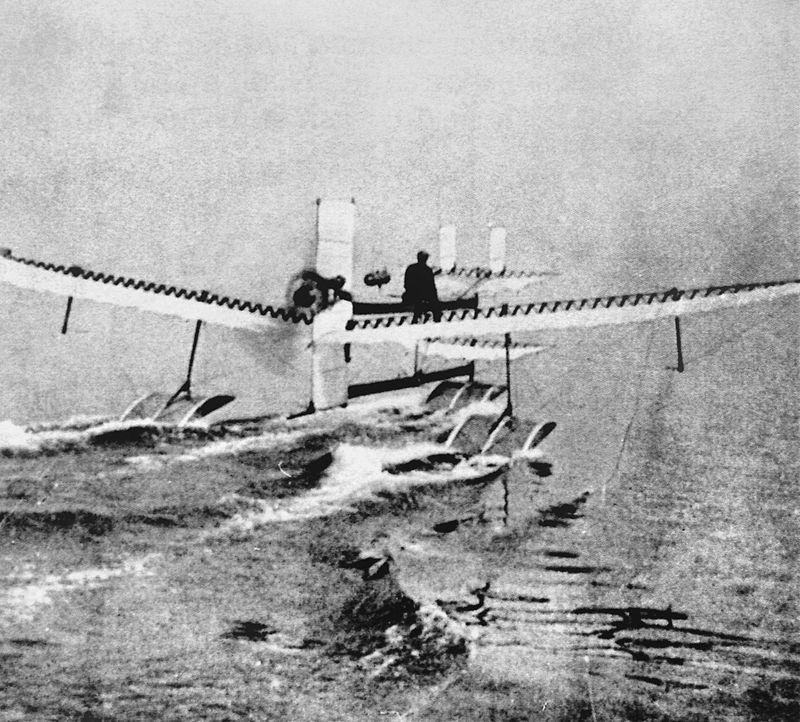 Hidroavião - Henri Fabri 1910